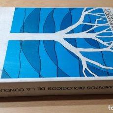 Libros de segunda mano: FUNDAMENTOS BIOLOGICOS DE LA CONDUCTA I - UNED - SILVERIO PALAFOXQ402. Lote 199876291