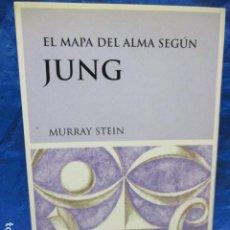 Libros de segunda mano: EL MAPA DEL ALMA SEGÚN JUNG. MURRAY STEIN. LUCIÉRNAGA ED. 2004. 1ª EDICIÓN! MUY BUEN ESTADO!. Lote 199992675