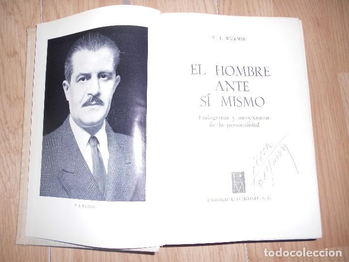 Libros de segunda mano: EL HOMBRE ANTE SI MISMO - V. J. VUKMIR - Foto 2 - 200532728