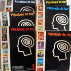 Libros de segunda mano: PSICODEIA. PSICOLOGIA DE HOY. 6 TOMOS. AÑOS 1 A 4 (NUMEROS 1 A 35. AÑOS 1974 A 1978 APROX.). Lote 202440970