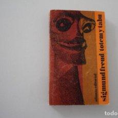 Libros de segunda mano: TOTEM Y TABI SIGMUND FREUD. Lote 205124456