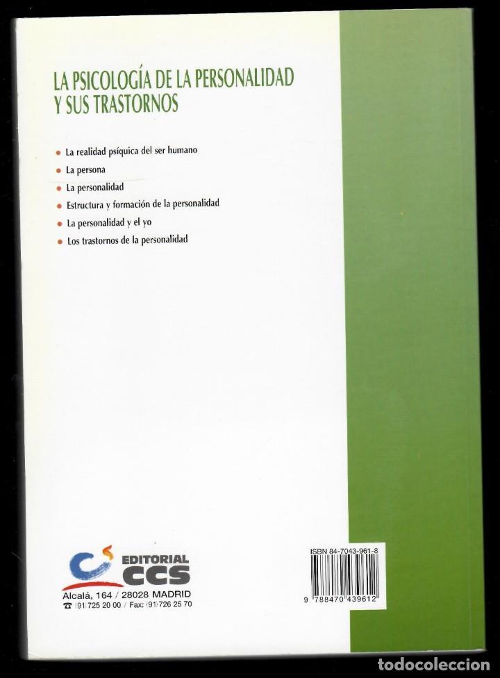 Libros de segunda mano: La Psicología de la personalidad y sus trastornos - Guillermo Quintana - Foto 2 - 205809727