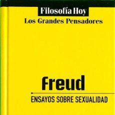 Libros de segunda mano: ENSAYOS SOBRE SEXUALIDAD - SIGMUND FREUD. Lote 206534098