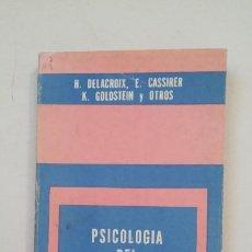 Libros de segunda mano: PSICOLOGÍA DEL LENGUAJE. DELACROIX, H. COLECCIÓN BIBLIOTECA DEL HOMBRE CONTEMPORANEO. TDK191. Lote 206765188