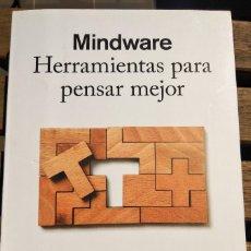 Libros de segunda mano: MINDWARE. HERRAMIENTAS PARA PENSAR MEJOR. RICHARD E. NISBETT. Lote 206778965