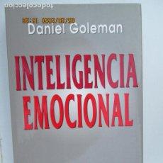 Libros de segunda mano: INTELIGENCIA EMOCIONAL - DANIEL GOLEMAN - EDITORIAL KAIRÓS 1ª ED. 1996.. Lote 206800667