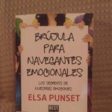 Libros de segunda mano: BRUJULA PARA NAVEGANTES EMOCIONALES DE ELSA PUNSET - PENGUIN RANDOM HOUSE, 2018. Lote 206947090