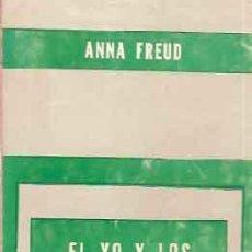Libros de segunda mano: FREUD, ANNA - EL YO Y LOS MECANISMOS DE DEFENSA. Lote 207126305