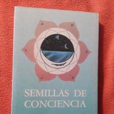 Libros de segunda mano: SEMILLAS DE CONCIENCIA, DE SRI NISARGADATRA MAHARAJ. UNICO EN TC. SIRIO EDITORIAL. AUTOAYUDA. Lote 207408317