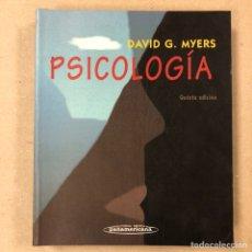 Libros de segunda mano: PSICOLOGÍA. DAVID G. MYERS. EDITORIAL MÉDICA PANAMERICANA 1999.. Lote 222820378