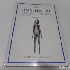 Libros de segunda mano: VV.AA EL ANALITICÓN PSICOANÁLISIS CON NIÑOS Q1494T. Lote 210089587