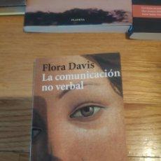 Libros de segunda mano: FLORA DAVIS LA COMUNICACIÓN NO VERBAL. Lote 210414391