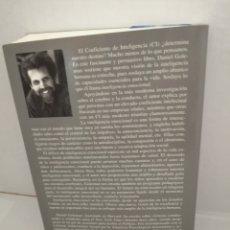 Libros de segunda mano: INTELIGENCIA EMOCIONAL DE DANIEL GOLEMAN. Lote 210553956