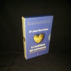 Libros de segunda mano: Mª JESUS ALAVA REYES - LA INUTILIDAD DEL SUFRIMIENTO - EDICION ESPECIAL CON DVD. Lote 210625333