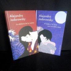 Libros de segunda mano: ALEJANDRO JODOROWSKY - LA SABIDURIA DE LOS CUENTOS Y EL DEDO Y LA LUNA (2 LIBROS) - OBELISCO 2005. Lote 210808769