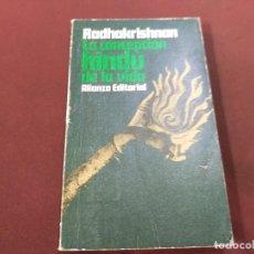 Libros de segunda mano: LA CONCEPCION HINDÚ DE LA VIDA - RADHAKRISHNAN - ALIANZA EDITORIAL - REB. Lote 210832224