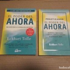 Libros de segunda mano: EL PODER DEL AHORA PRACTICANDO EL PODER DEL AHORA ECKHART TOLLE. Lote 210968250