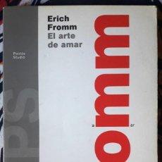 Libros de segunda mano: ERICH FROMM . EL ARTE DE AMAR. Lote 210968367