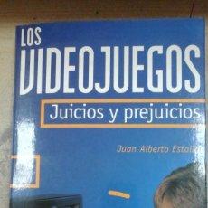 Libros de segunda mano: LOS VIDEOJUEGOS. JUICIOS Y PREJUICIOS (BARCELONA, 1995). Lote 211465297