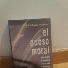 Libros de segunda mano: MARIE FRANCE HIRIGOYEN EL ACOSO MORAL. Lote 211485230
