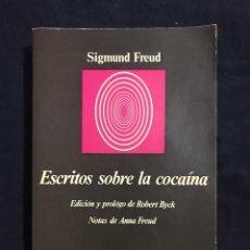 Libros de segunda mano: ESCRITOS SOBRE LA COCAÍNA - SIGMUND FREUD. Lote 211511544