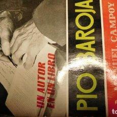 Libros de segunda mano: PÍO BAROJA. ESTUDIO Y ANTOLOGÍA POR. CAMPOY, ANTONIO MANUEL. Lote 211518566