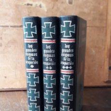 Libros de segunda mano: LOS GRANDES ENIGMAS DE LA OCUPACION. JEAN DUMONT. OBRA EN 3 TOMOS. CIRCULO DE AMIGOS DE LA HISTORIA.. Lote 212398252