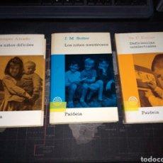 Libros de segunda mano: BIBLIOTECA PRÁCTICA DE PEDAGOGÍA PSICOLOGÍA Y PSICOPATOLOGÍA INFANTIL SUTTER C.KOHLER G AMADO. Lote 213721328