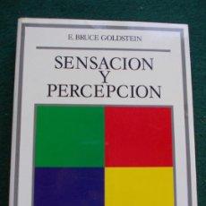 Libros de segunda mano: SENSACIÓN Y PERCEPCIÓN DEBATE. Lote 213758986