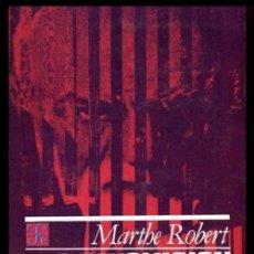 Libros de segunda mano: LA REVOLUCION PSICOANALITICA. VIDA Y OBRA DE FREUD. MARTHE ROBERT. PSICOLOGIA. PSICOANALISIS.. Lote 214139901