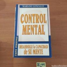 Libros de segunda mano: CONTROL MENTAL. Lote 214232726
