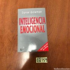 Libros de segunda mano: INTELIGENCIA EMOCIONAL. Lote 215048805