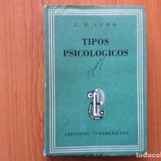 Libros de segunda mano: TIPOS PSICOLÓGICOS. C.G. JUNG. Lote 276622763