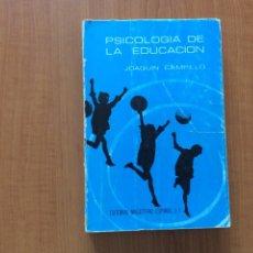 Libros de segunda mano: PSICOLOGÍA DE LA EDUCACIÓN. Lote 215404267