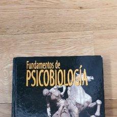 Libros de segunda mano: FUNDAMENTOS DE PSICOBIOLOGIA (UNED). Lote 217186078