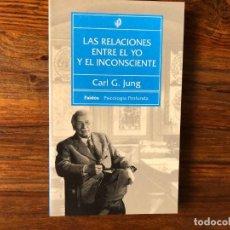 Libros de segunda mano: LAS RELACIONES ENTRE EL YO Y EL INCONSCIENTE. CARL G. JUNG. PAIDÓS PSICOLOGÍA PROFUNDA. NUEVO. Lote 218048080