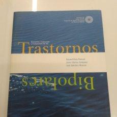 Libros de segunda mano: TRASTORNOS BIPOLARES DETECCION EVALUACION Y TRATAMIENTO EDUARD VIETA INCLUYE CD. Lote 218785255