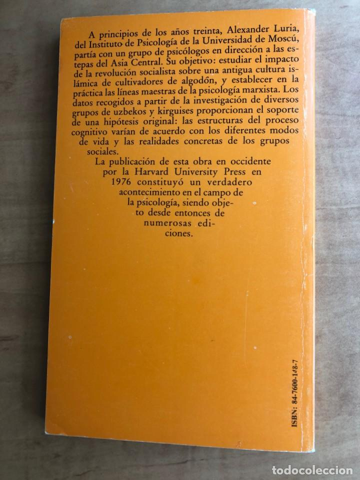 Libros de segunda mano: Desarrollo histórico de los procesos cognitivos. A. R. Luria. Akal Universitaria - Foto 2 - 219432713