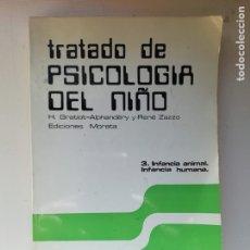 Libros de segunda mano: TRATADO DE PSICOLOGÍA DEL NIÑO. Lote 219977905