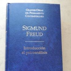 Libros de segunda mano: SIGMUND FREUD - INTRODUCCIÓN AL PSICOANÁLISIS - ED. ALTAYA. Lote 220135865