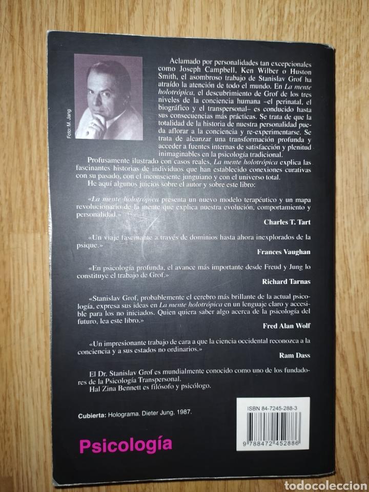 Libros de segunda mano: Stanislav grof LA MENTE HOLOTRÓPICA Los niveles de la conciencia humana Kairós2005 - Foto 2 - 221169761