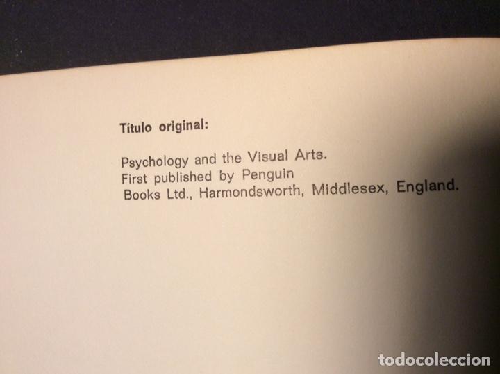 Libros de segunda mano: Psicología y artes visuales. Colección comunicación visual.GG - Foto 5 - 221319438
