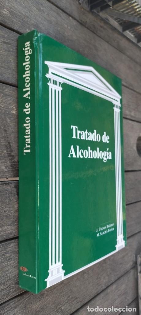 TRATADO DE ALCOHOLOGIA - J CUEVAS / M SANCHIS - DUPONT PHARMA / B004 / PSIQUIATRIA (Libros de Segunda Mano - Pensamiento - Psicología)