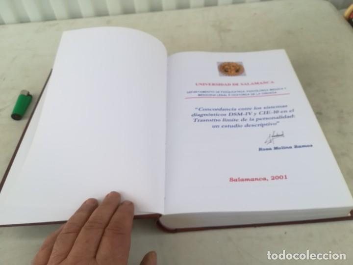Libros de segunda mano: CONCORDANCIA SISTEMAS DIAGNOSTICOS DSM-IV Y CIE-10 UNIVERSIDAD SALAMANCA / ESQ702 / PSIQUIATRIA - Foto 6 - 221328081