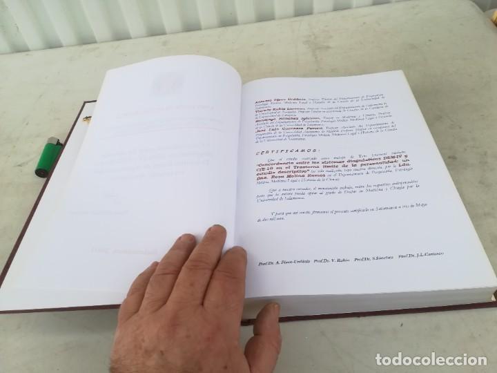 Libros de segunda mano: CONCORDANCIA SISTEMAS DIAGNOSTICOS DSM-IV Y CIE-10 UNIVERSIDAD SALAMANCA / ESQ702 / PSIQUIATRIA - Foto 7 - 221328081