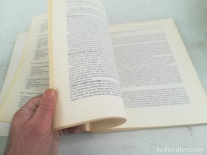Libros de segunda mano: LA PERSONALIDAD Y SUS TRASTORNOS - THEODORE MILLON / GEORGE S EVERLY / ESQ704 / PSIQUIATRIA - Foto 19 - 221328872