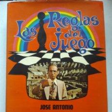 Libros de segunda mano: LAS REGLAS DEL JUEGO/JOSÉ ANTONIO JAUREGUI. Lote 221730472