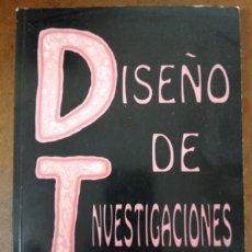 Libros de segunda mano: DISEÑO DE INVESTIGACIONES (LEON Y MONTERO) MCGRAW HILL - OFI15J. Lote 221743646