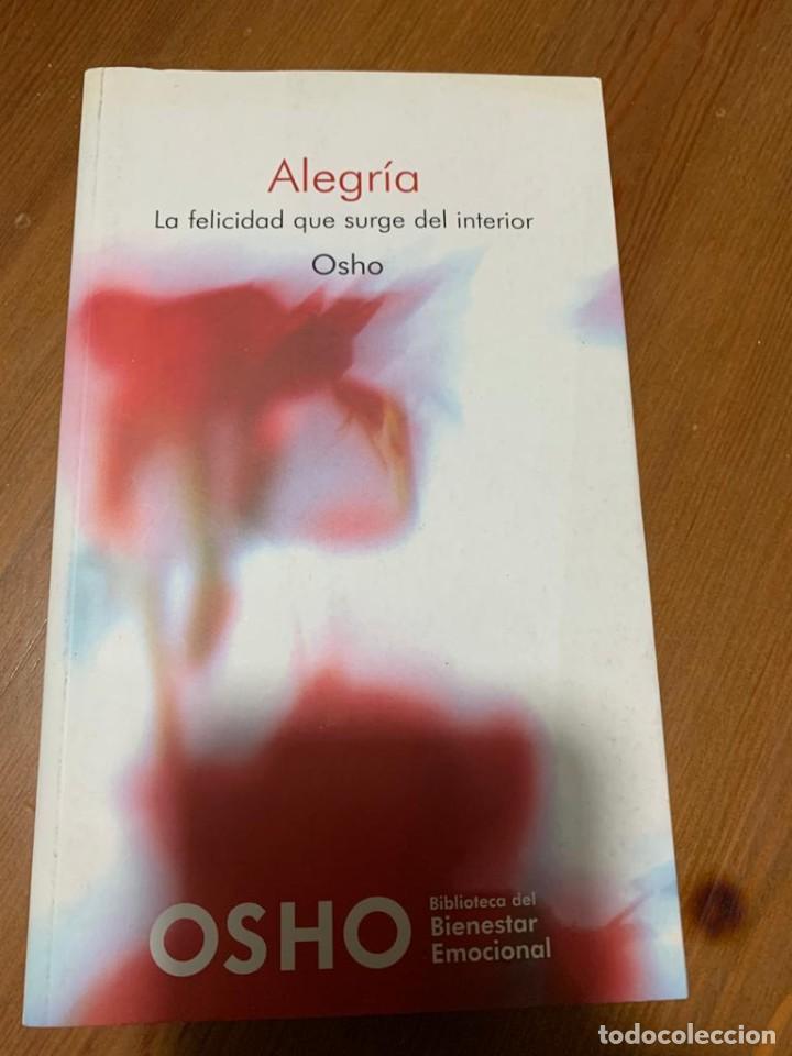ALEGRÍA - OSHO (Libros de Segunda Mano - Pensamiento - Psicología)