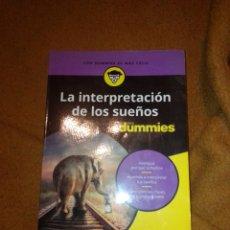 Libros de segunda mano: LA INTERPRETACIÓN DE LOS SUEÑOS PARA DUMMIES. Lote 222186583